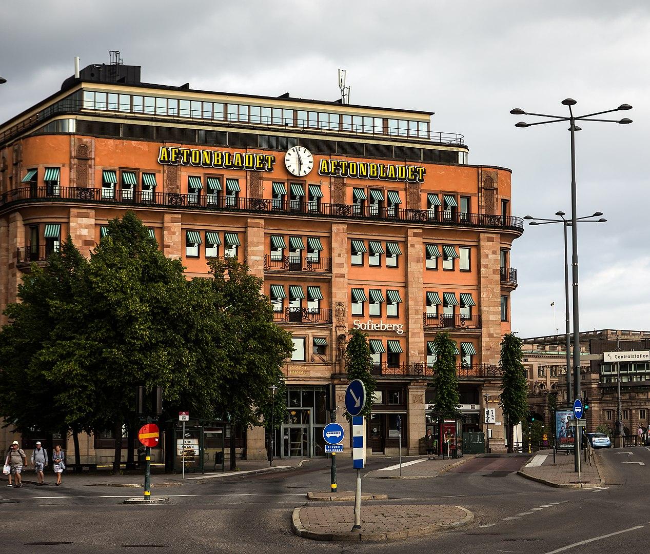 Västra City – Tegelbacken och kring Centralstationen